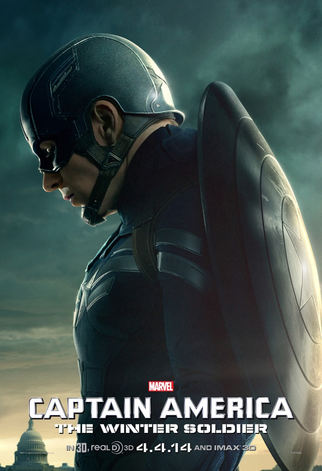 'Captain America 2' tung loat poster an tuong hinh anh 2