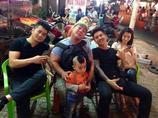 Tuan Hung vui dua voi con trai Hieu Hien hinh anh 5