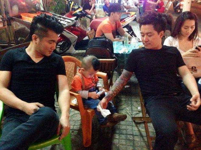Tuan Hung vui dua voi con trai Hieu Hien hinh anh 3