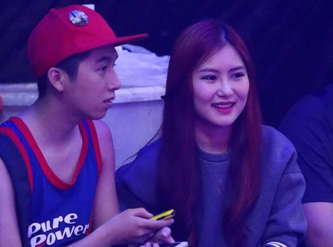 Bui Anh Tuan, Huong Tram di co vu nguoi than o 'X Factor' hinh anh