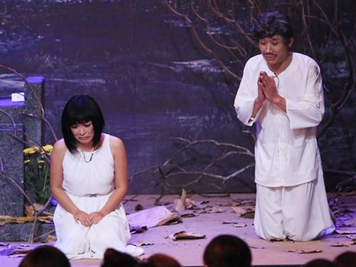 Tran Thanh, Phuong Thanh khoc o On gioi, cau day roi hinh anh