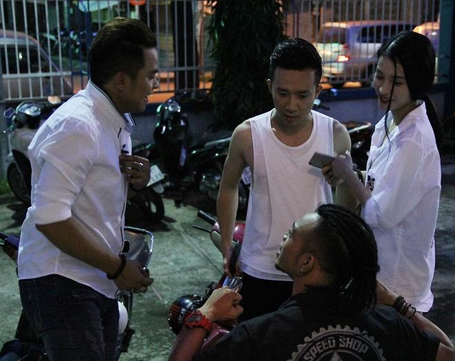 Ban gai cu sanh vai Tran Thanh o hau truong show On gioi hinh anh 4