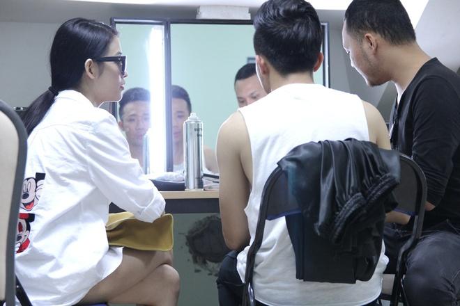 Ban gai cu sanh vai Tran Thanh o hau truong show On gioi hinh anh 2