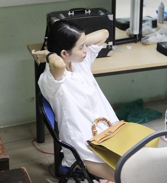 Ban gai cu sanh vai Tran Thanh o hau truong show On gioi hinh anh 1