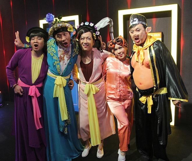 Ban gai cu sanh vai Tran Thanh o hau truong show On gioi hinh anh 5
