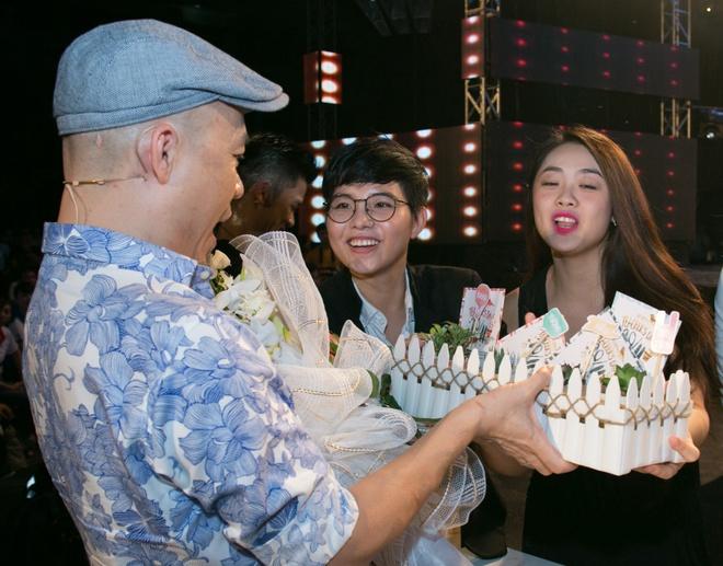 Trong Hieu - Cat Tuong chuc mung nhac si Huy Tuan ngay 20/11 hinh anh 3