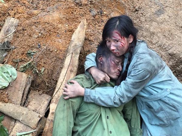 Nhung guong mat sang gia nhat tai LHP Viet Nam 2015 hinh anh 6 Lã Thanh Huyền đảm nhận vai cô Mây có số phận long đong, vất vả trong phim Người trở về. Ảnh: Huyền Thanh