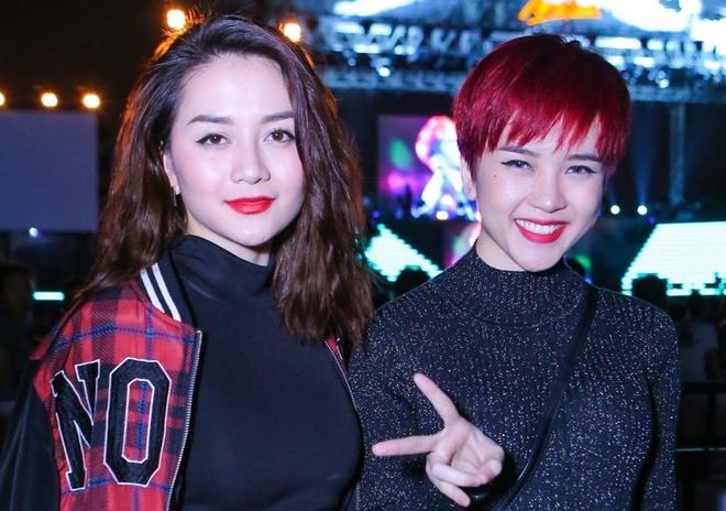 Thieu Bao Tram toi xem live show cua Son Tung hinh anh
