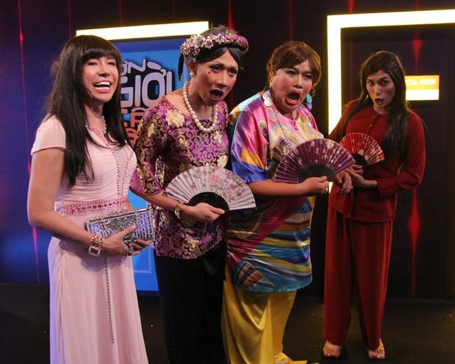 Nha Phuong tham gia On gioi, cau day roi cung Truong Giang hinh anh 8