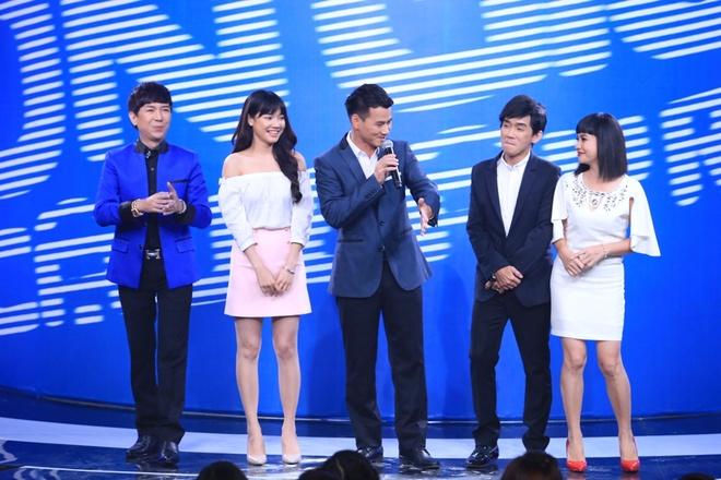 Truong Giang tat Nha Phuong o show On gioi, cau day roi hinh anh 1