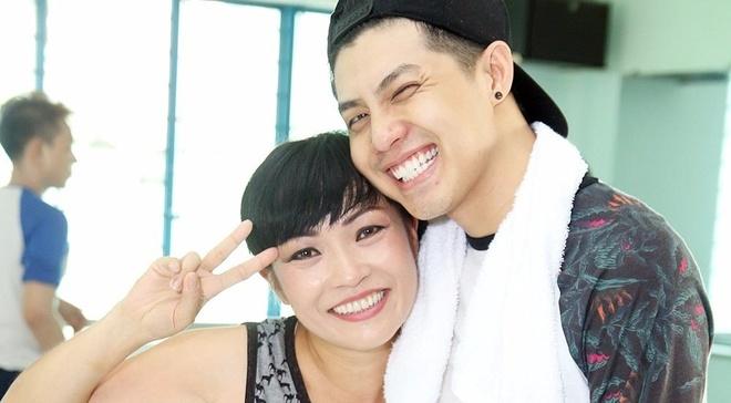 Phuong Thanh va mo hoi tap nhay cung Noo Phuoc Thinh hinh anh