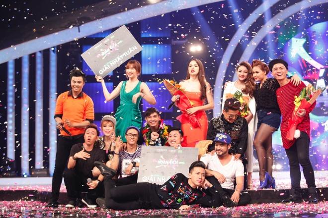 Cuong Seven gianh 100 trieu dong o show Hoan doi hinh anh 2