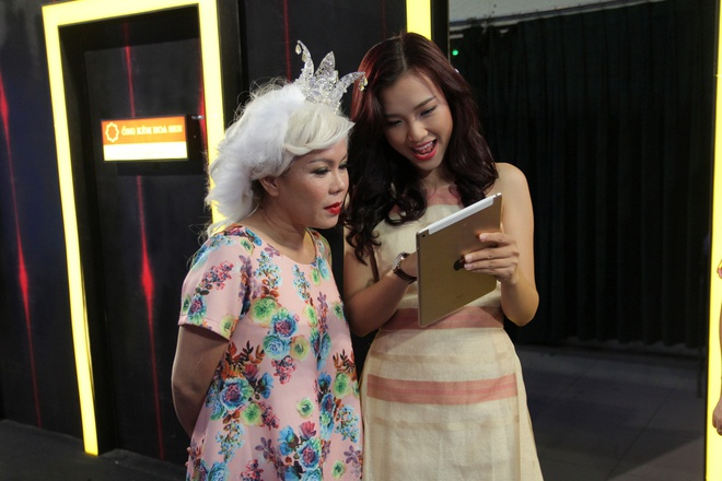 Huynh Anh toi hau truong show On gioi co vu ban gai hinh anh 4