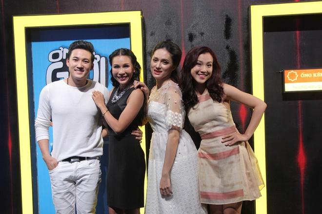 Huynh Anh toi hau truong show On gioi co vu ban gai hinh anh 1