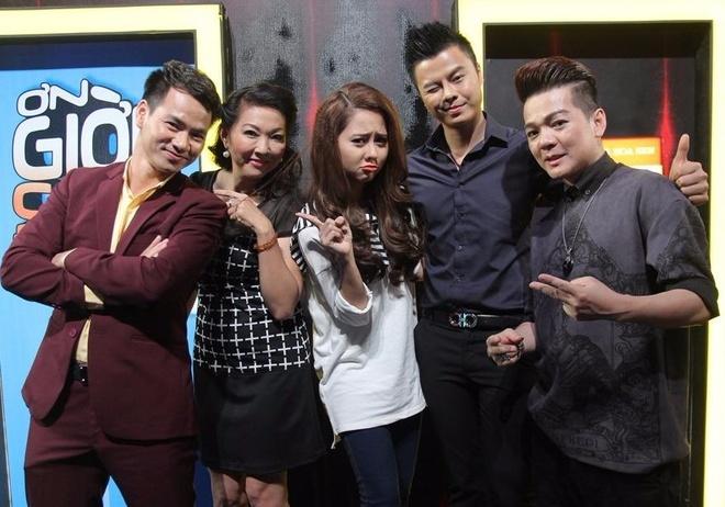 Tuong Vi lam khach moi show On gioi, cau day roi hinh anh