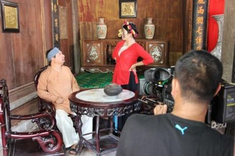 Hiep Ga lam phim hai 'Chon nhoi' cung Quang Thang hinh anh 2