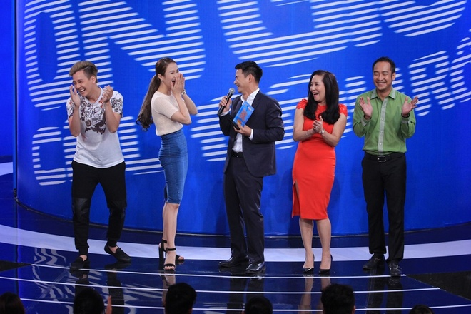 Tran Thanh tat nuoc vao mat Ngo Kien Huy o On gioi hinh anh 5