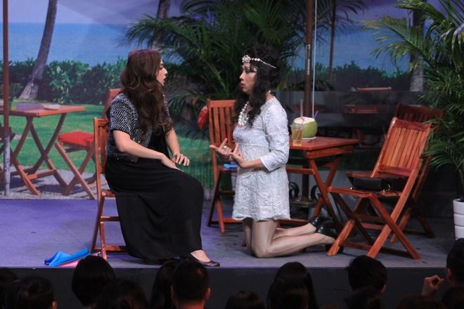 Tran Thanh tat nuoc vao mat Ngo Kien Huy o On gioi hinh anh 1