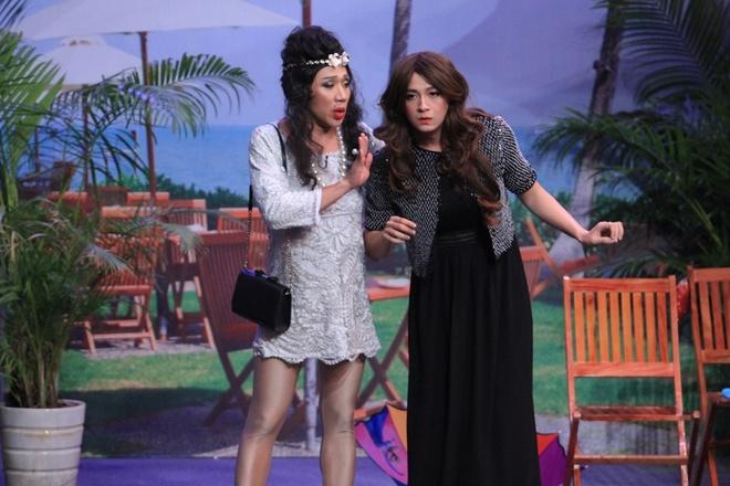 Tran Thanh to Truong Giang yeu Viet Huong o show On gioi hinh anh 1