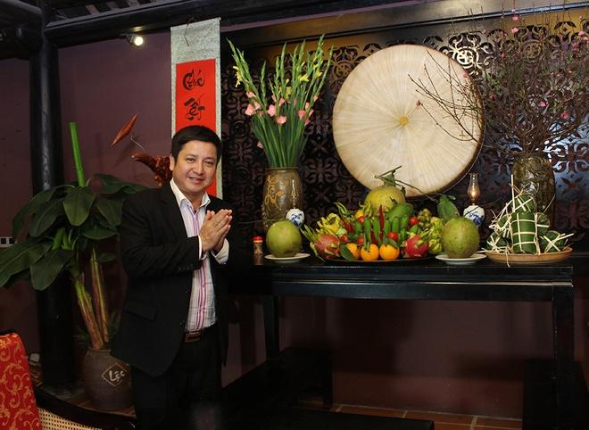 Minh Vuong - Chi Trung chia se chuyen vao bep ngay Tet hinh anh 2