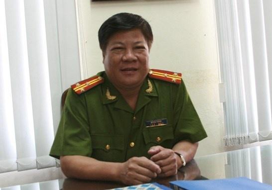 Nguoi thuong binh ke chuyen bat cuop '3 dau 7' tren tau hoa hinh anh 1 Thượng tá Lê Văn Thành.