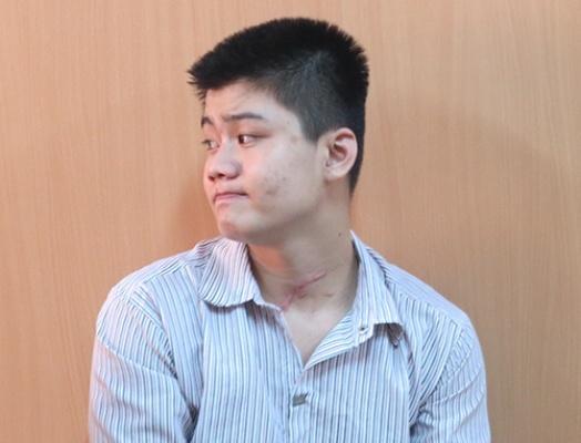 Giet gai ban dam sau khi an ai de tra thu tinh hinh anh 1 Bị cáo Ngô Thanh Sơn Trường tại tòa sơ thẩm.