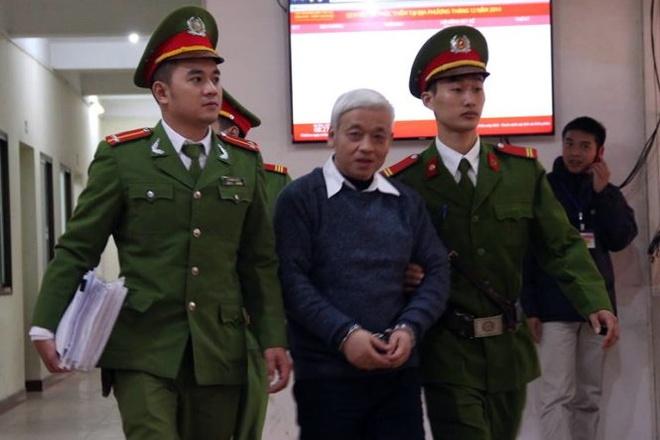 Vien kiem sat de nghi xu y an Bau Kien 30 nam tu hinh anh 1 Bầu Kiên trước khi phiên tòa ngày 8/12 bắt đầu.