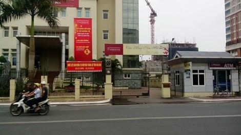 Cuop dot nhap ngan hang, dung dao khong che giam doc hinh anh 1 Ngân hàng Agribank chi nhánh Thái Bình.