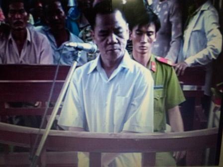 Co giao tre bi anh re xam hai truoc ngay khai truong hinh anh 1 Hồ Thái tại phiên xử.