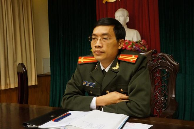 Cong an tinh noi gi ve Truong Cong an TP Phu Ly vua bi ban? hinh anh 1