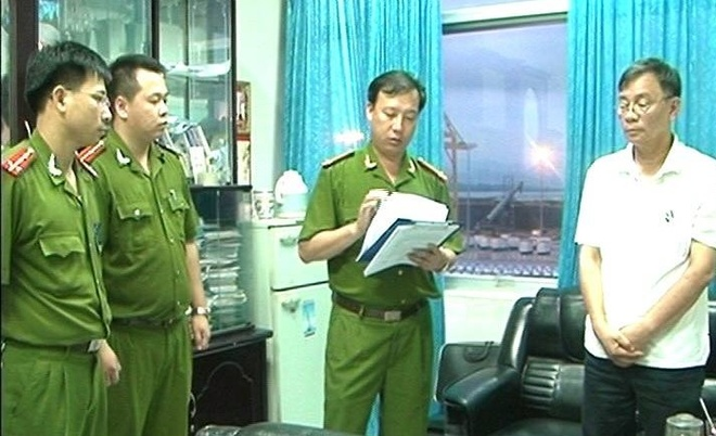 Nguyen Pho tong giam doc Cang Quang Ninh bi bat hinh anh