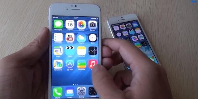 Man lua iPhone 6 tinh vi cua cap doi 9X hinh anh