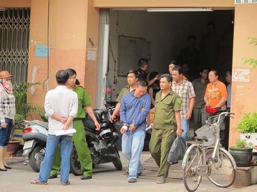 De nghi truy to nguoi chong ra tay giet vo hinh anh 1 Hung thủ bị bắt sau khi gây án.