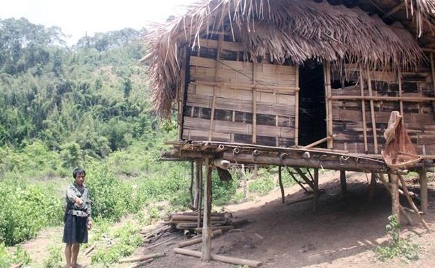 Lán trại của gia đình anh Thọ, nơi phát hiện thi thể người đàn ông này. Ảnh: X.Đ.