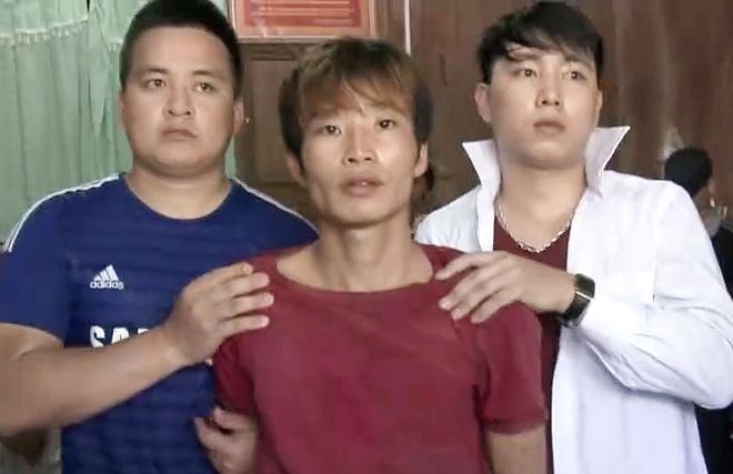 Phut nhan chung doi mat nghi pham tham sat 4 nguoi hinh anh