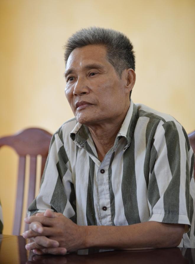 Doi khon kho cua pham nhan tuoi lao cho dac xa hinh anh 1 Phạm nhân Nguyễn Ngọc Chấn. Ảnh: Lê Hiếu.