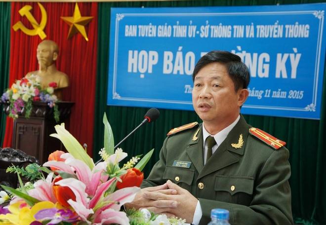 Nguoi dau doc vo con roi tu tu no khoan tien lon hinh anh 1 Thượng tá Nguyễn Hữu Bình - Phó trưởng phòng PA83 (an ninh chính trị nội bộ). Ảnh: Việt Đức.