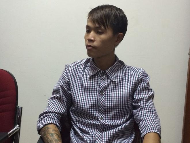 Nghi phạm Nguyễn Trí Long (25 tuổi) - người được cho trực tiếp đâm chết nữ sinh. Ảnh: Tùng Lâm.