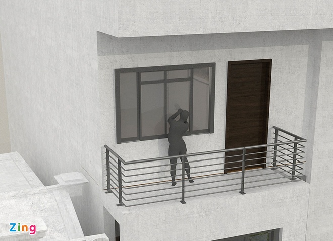 Canh sat hinh su bay cach ung pho khi trom dot nhap hinh anh 4 Cảnh sát khuyến cáo người dân gia cố cửa chắc chắn để tránh bị cậy phá. Đồ họa: Hà Ninh.