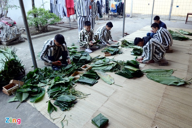Noi goi banh chung cho 2.400 pham nhan an Tet hinh anh 5