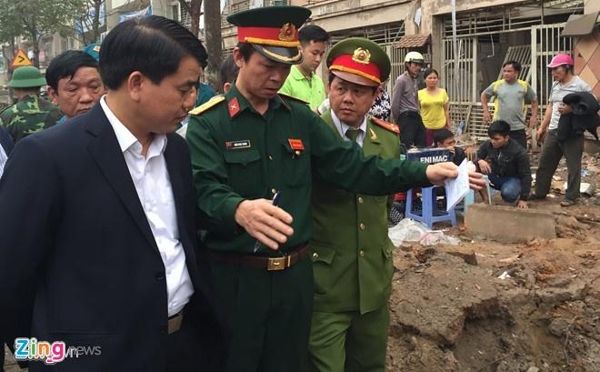 Vu no o Ha Dong: Pho thu tuong chi dao khac phuc hau qua hinh anh 2