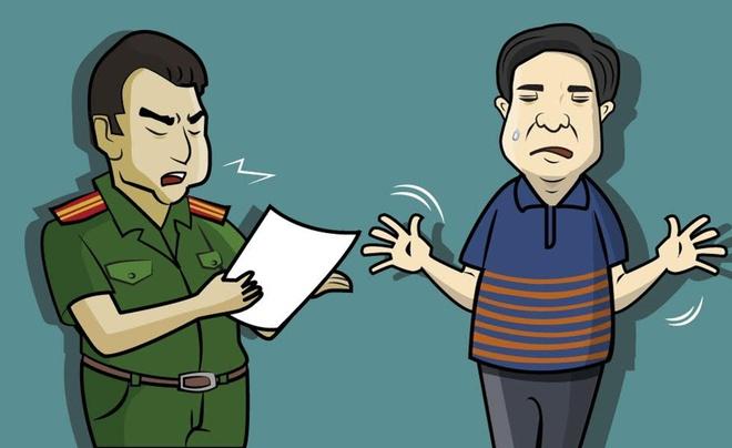 Vu khoi to hinh su chu quan ca phe Xin Chao qua tranh hinh anh
