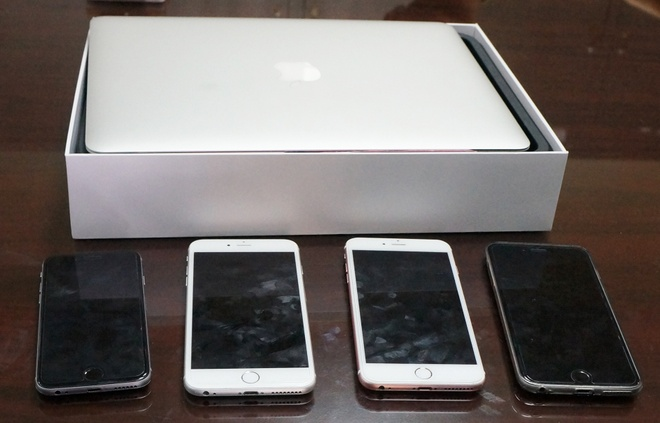 Chieu lua hang loat iPhone, Macbook Air cua 9X hinh anh 2