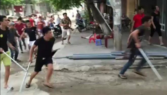 Khoi to, bat 10 nghi pham vu giang ho danh nguoi o Phu Tho hinh anh