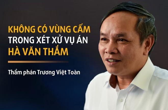 Tham phan: Khong co 'vung cam' trong xet xu vu Ha Van Tham hinh anh 3