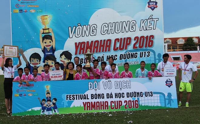 Ket thuc Festival bong da hoc duong U13 hinh anh 1