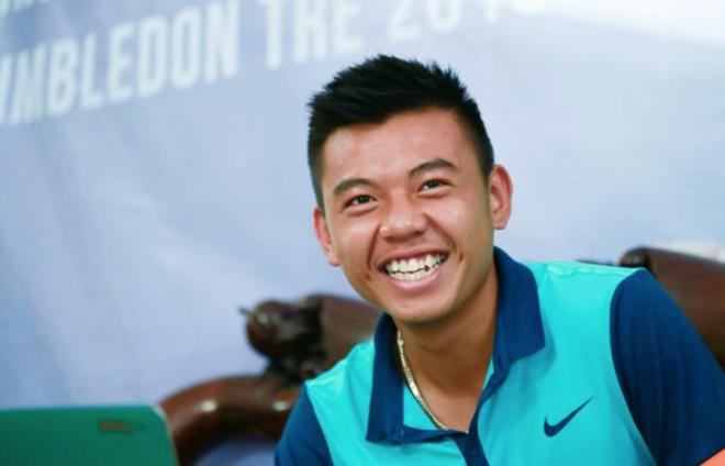 Ly Hoang Nam len ngoi don nam tennis VDQG 2016 hinh anh 1