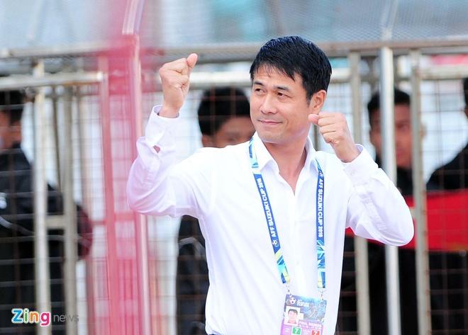 Huu Thang khat khao vo dich SEA Games nam Dinh Dau hinh anh 1