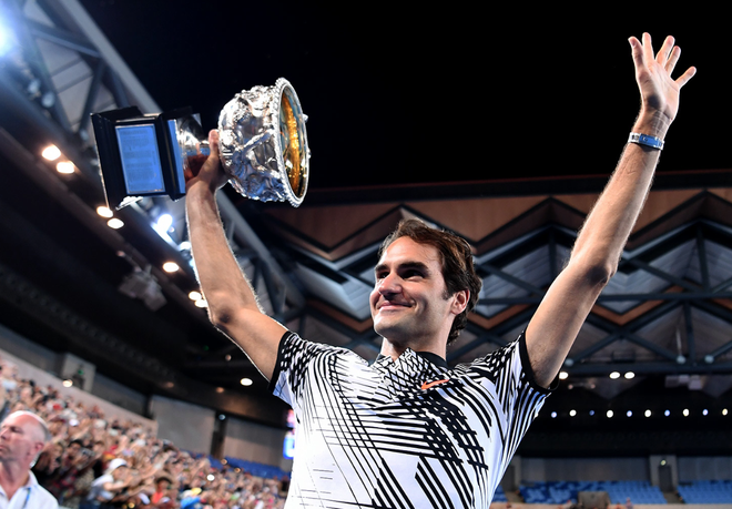 Roger Federer: Chien thang mang mau sac huyen thoai hinh anh 1