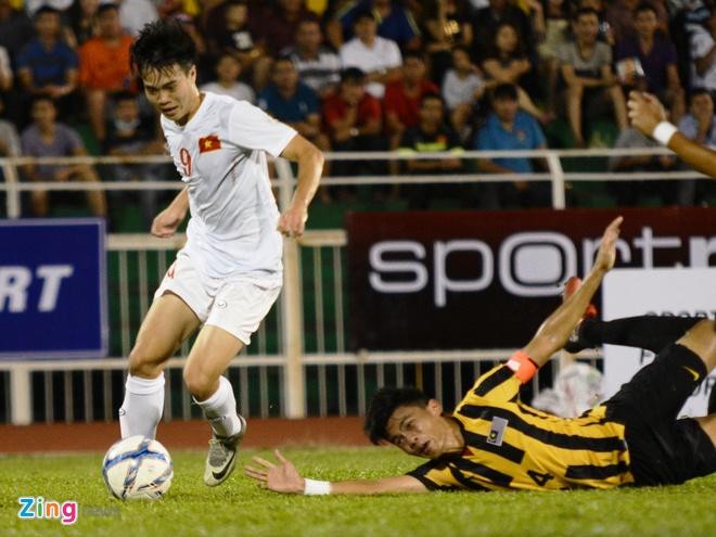 U23 Viet Nam vs Malaysia anh 1